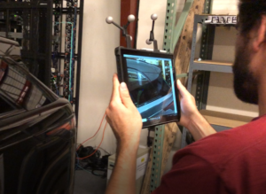 augmented reality tablet for training