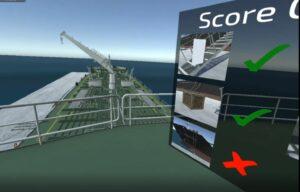 virtual reality training scoring system