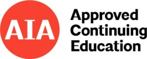American Institute of Architects approved continuing education courses